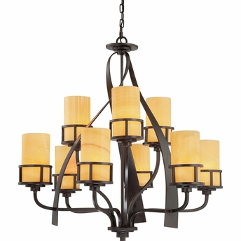 Kyle Chandelier From Quoizel Lighting - KY5009IB