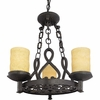 La Parra- European Style La Parra Chandelier In Imperial Bronze Finish From Quoizel Lighting- LP5003IB