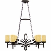La Parra- European Style La Parra Island Light In Imperial Bronze Finish From Quoizel Lighting- LP639IB