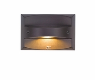 LED Step Light shown in Bronze by CSL Lighting