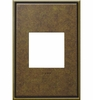 Legrand (AWC1G2AB4) adorne Aged Brass, 1-Gang Wall Plate