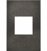 Legrand (AWC1G2DP4) adorne Dark Burnished Pewter, 1-Gang Wall Plate