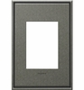 Legrand (AWC1G3BP4) adorne Brushed Pewter, 1-Gang, 3-Module Wall Plate