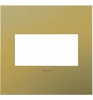 Legrand (AWC2GBB4) adorne Brushed Brass, 2-Gang Wall Plate