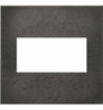 Legrand (AWC2GDP4) adorne Dark Burnished Pewter, 2-Gang Wall Plate