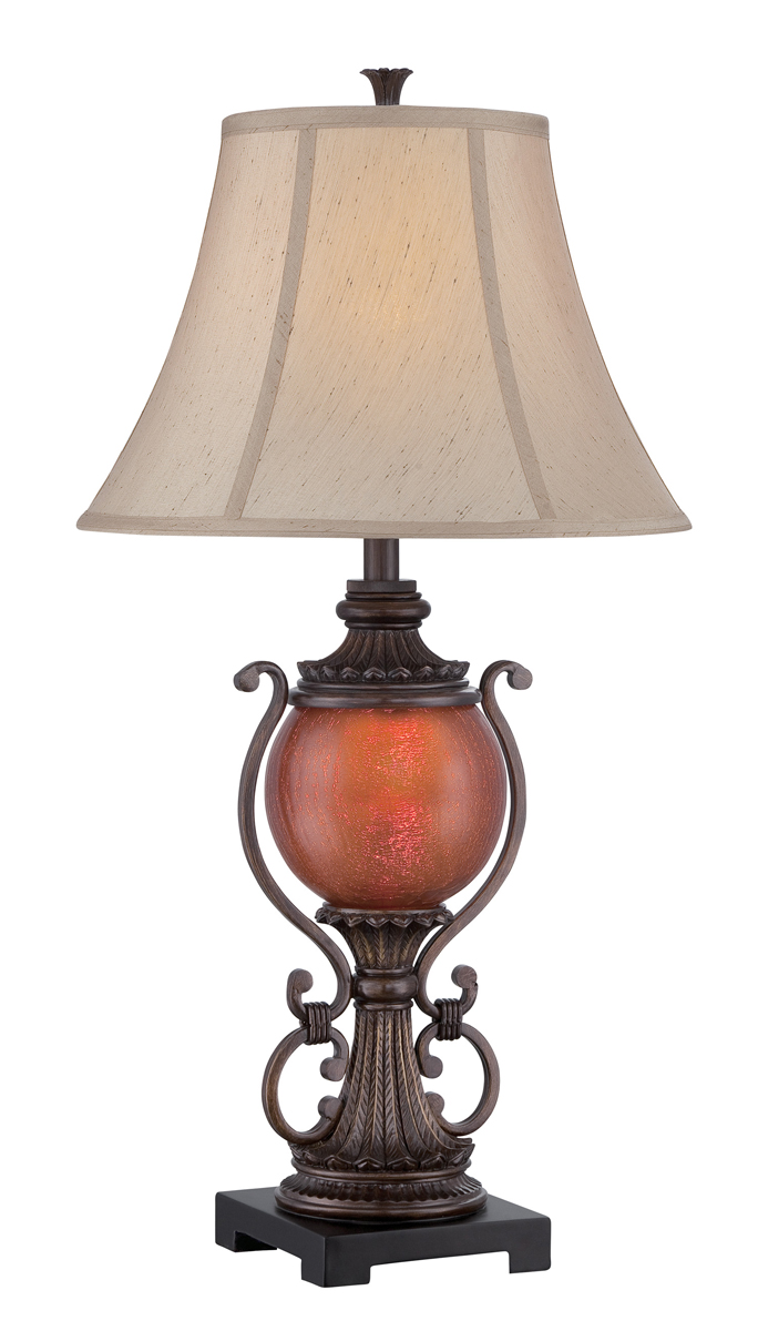 Night Table Lamps : Lite Source (C41330) Table Lamp with Night Light