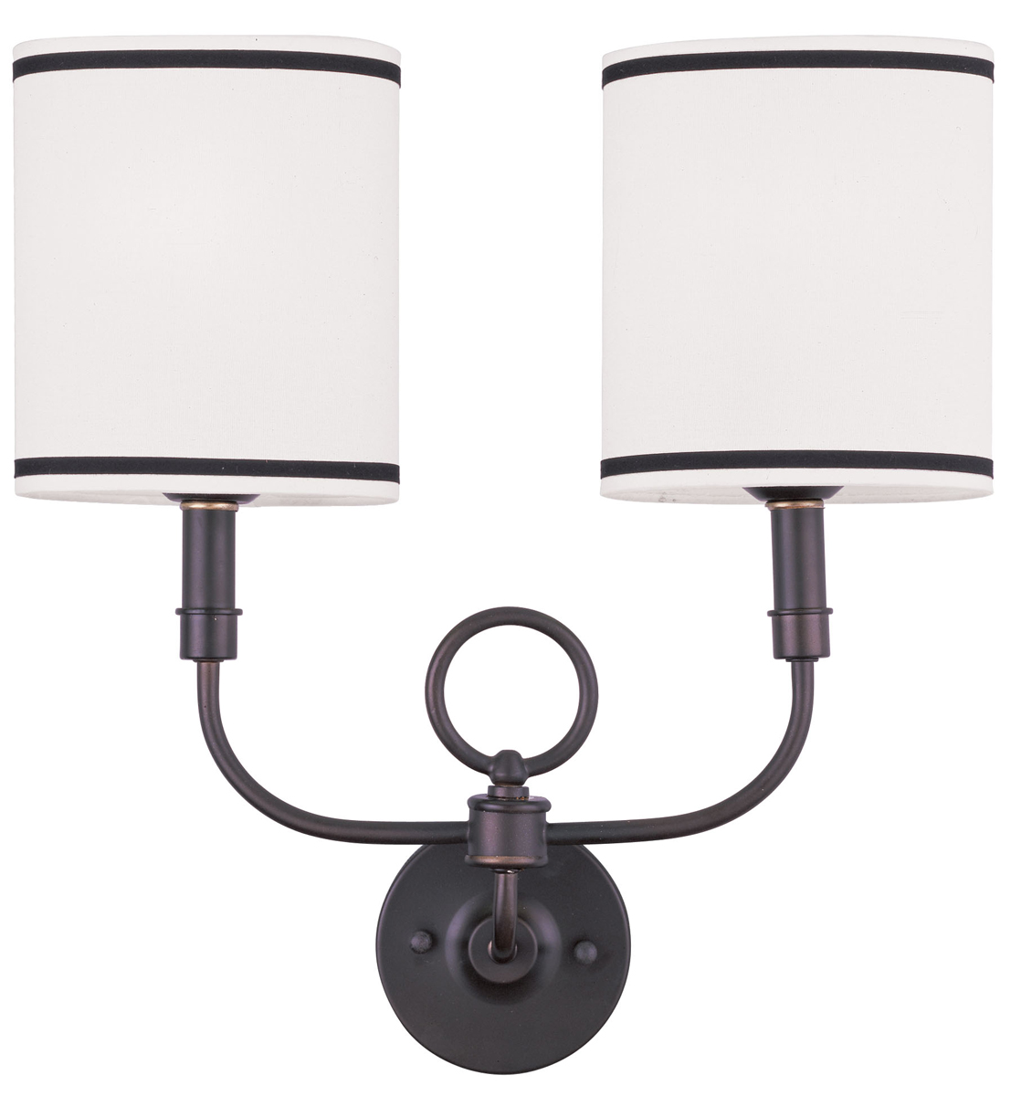 Livex Lighting 9122 Wall Sconces 2 Light ADA Compliant