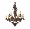Savoy House Lighting (1-0153-15-76) Southerby 15 Light Chandelier in Florencian Bronze Finish