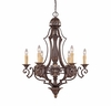 Savoy House Lighting (1-0161-6-76) Southerby 6 Light Chandelier in Florencian Bronze Finish