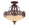 Savoy House Lighting (6-0155-3-76) Southerby Semi-Flush in Florencian Bronze Finish