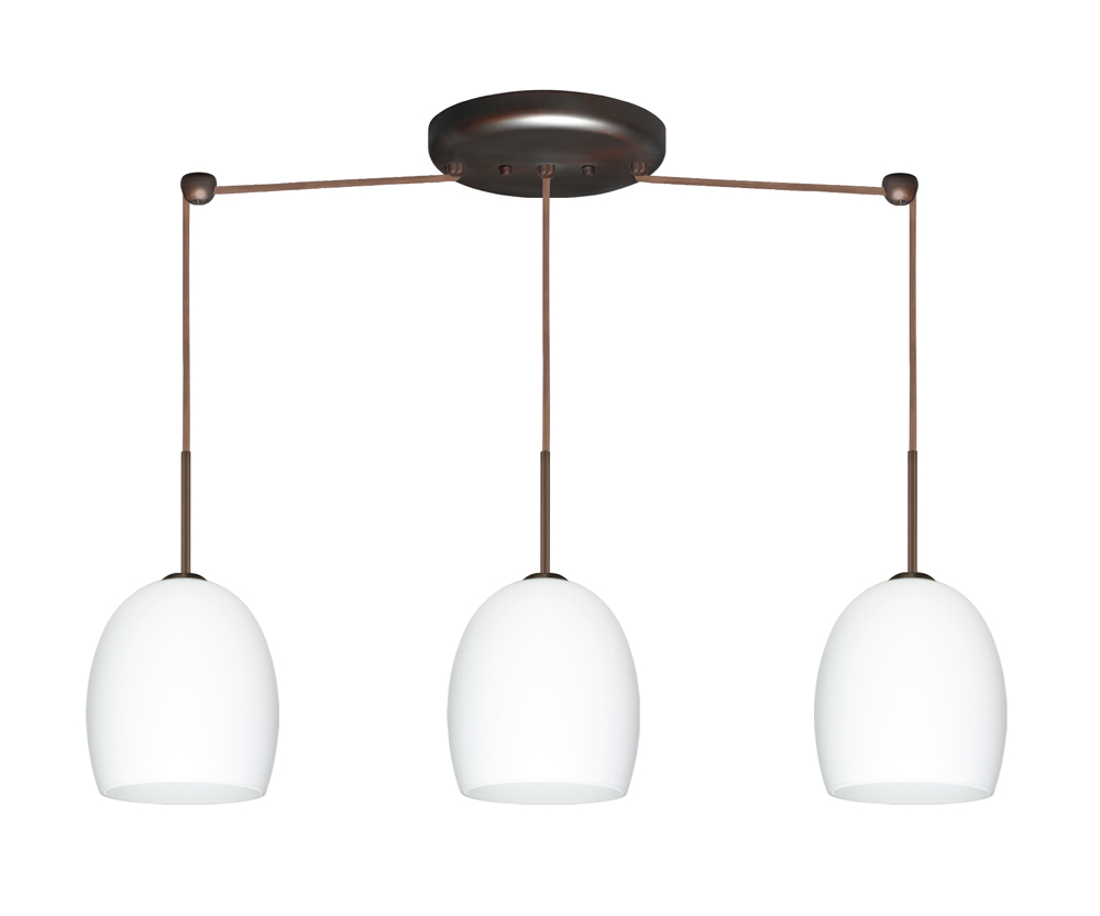 in bronze with opal matte glass shade by besa lighting 3jb 169707 br