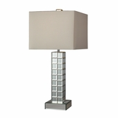 Luella Mirror Table Lamp shown in Clear Finish by Dimond Lighting