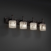 Justice Design (FAL-8584) Heritage 4-Light Bath Bar from the LumenAria Collection