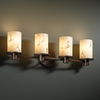 Justice Design (FAL-8514) Rondo 4-Light Bath Bar from the LumenAria Collection