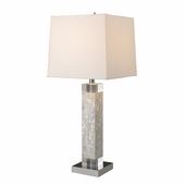 Luzerne Shell Table Lamp shown in Mother of Pearl by Dimond Lighting