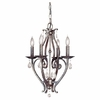 Murray Feiss (F1800) Mademoiselle 4 Light Single-Tier Chandelier