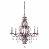 Murray Feiss (F1798) Mademoiselle 6 Light Single Tier Chandelier