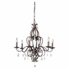 Murray Feiss (F1798) Mademoiselle 6 Light Single-Tier Chandelier