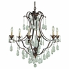 Maison de Ville Collection Chandelier from Murray Feiss Lighting -F1883