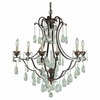 Murray Feiss (F1883) Maison De Ville 6 Light Chandelier