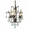 Murray Feiss (F1880) Maison De Ville 3 Light Mini-Chandelier