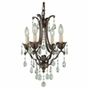 Murray Feiss (F1881) Maison De Ville 4 Light Mini-Chandelier