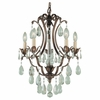 Murray Feiss (F1882) Maison De Ville 5 Light Mini-Chandelier