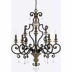 Quoizel Lighting (MQ5009HL) Marquette 9-Light Foyer Piece in Heirloom Finish