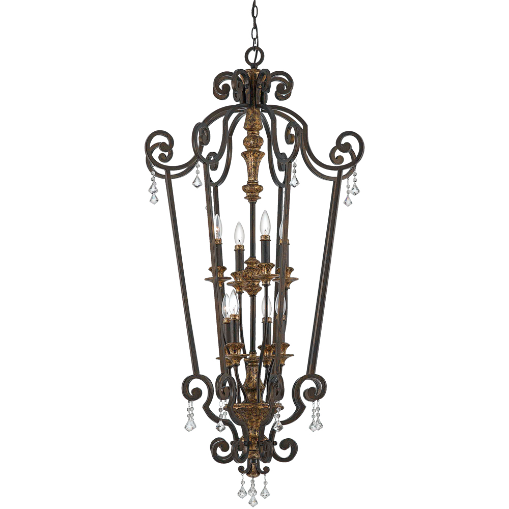 Marquette- European Style Marquette Chandelier In Heirloom Finish From Quoizel Lighting- MQ5208HL