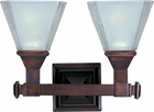 Maxim Lighting (11077) Brentwood 2-Light Bath Vanity