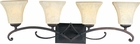 Maxim Lighting (21074) Oak Harbor 4-Light Bath Vanity