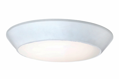 maxim lighting 87620 convert 8 led flush mount shown in white with. Black Bedroom Furniture Sets. Home Design Ideas