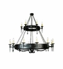 Meyda Tiffany (111559) 60 Inch Width Warwick 18 Light Two Tier Chandelier