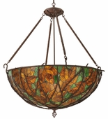 Meyda Tiffany (120582) 43 Inch Width Branches Inverted Pendant