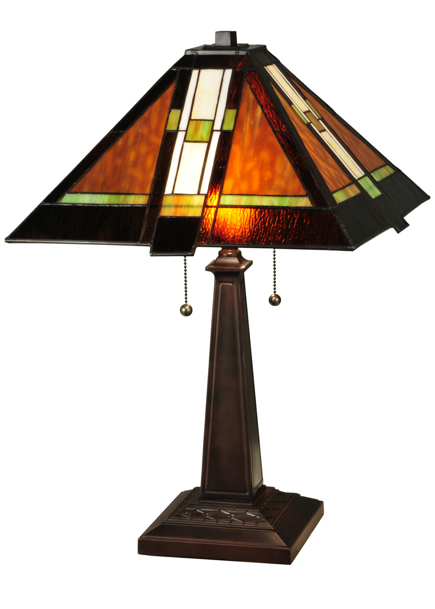 meyda tiffany 132673 24 inch height montana mission table lamp. Black Bedroom Furniture Sets. Home Design Ideas