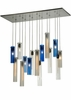 "Meyda Tiffany (133568) 48""L Cilindro 15 Light Shower Pendant"