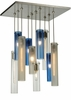 Meyda Tiffany (135045) 17 InchSq Cilindro 10 Light Shower Pendant