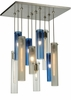"Meyda Tiffany (135045) 17""Sq Cilindro 10 Light Shower Pendant"