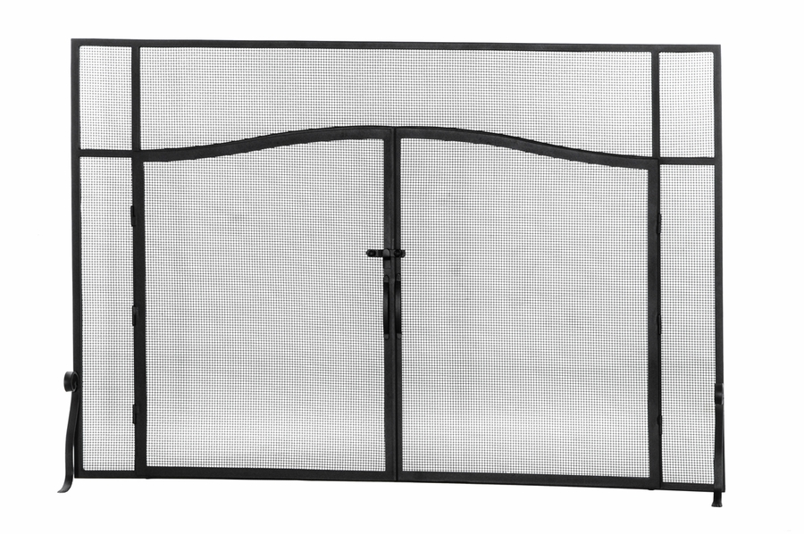Fireplace Design arched fireplace screen : Meyda Tiffany (144657) 62 Inch Width X 42 Inch Height Simple ...