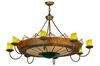 "Meyda Tiffany (145154) 47""W Stanley 8 Arm Chandelier"