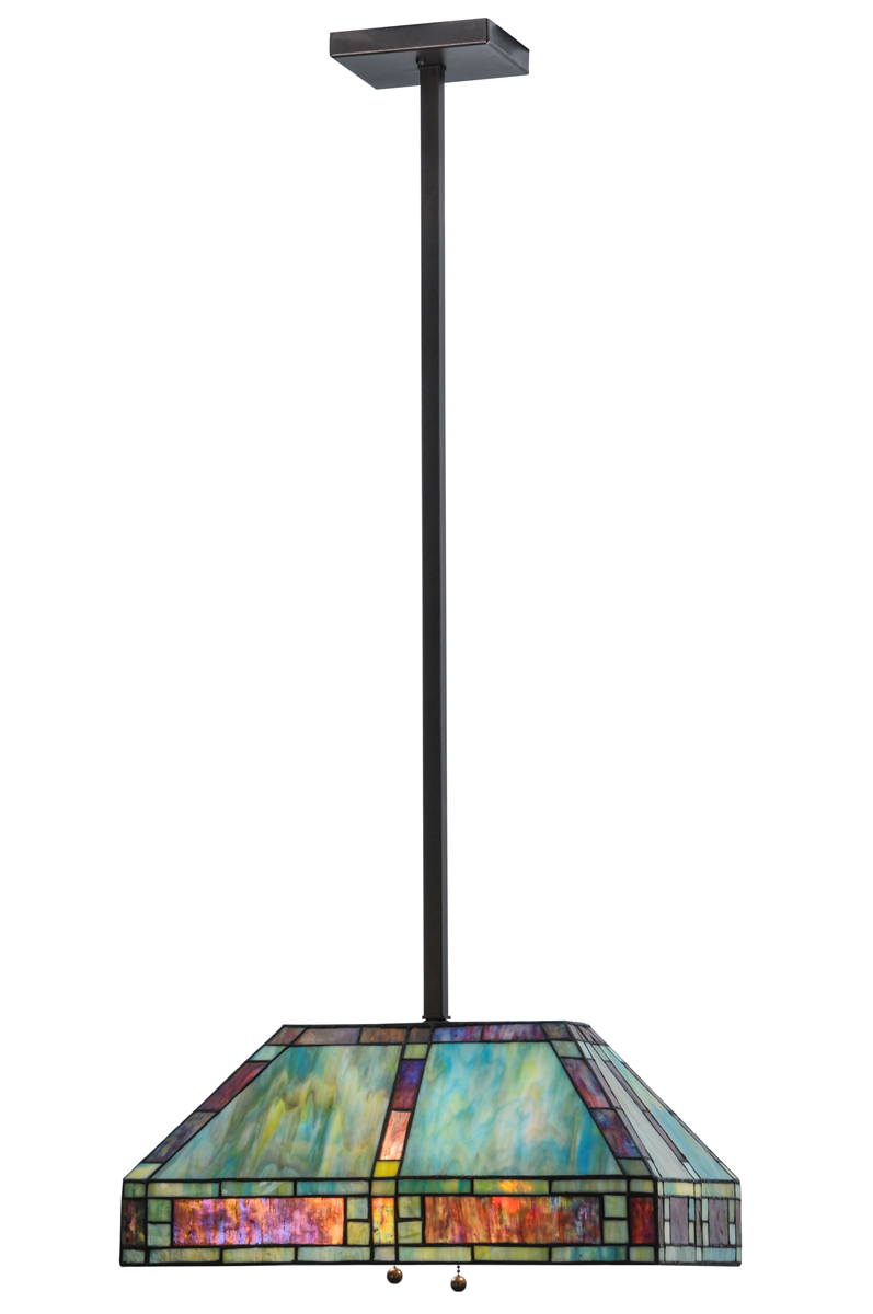 Meyda Tiffany 145273 20 Inch Length Chaves Oblong Pendant