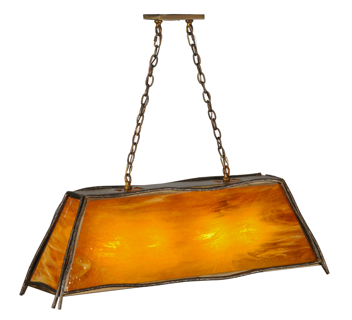 Meyda Tiffany 147249 42 Inch Length Sticks Oblong Pendant