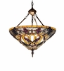 Meyda Tiffany (19512) 24 Inch Width Jeweled Grape Inverted Pendant