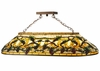 Meyda Tiffany (20610) 44 Inch Length Jeweled Grape Oblong Pendant