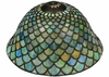 Meyda Tiffany (23953) 12 Inch Width Tiffany Fishscale Replacement Shade