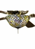 Meyda Tiffany (27451) 12 Inch Width Tiffany Fishscale Fan Light Fixture
