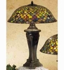 Meyda Tiffany (31115) 30 Inch Height Tiffany Fishscale Table Lamp