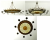 "Meyda Tiffany (65481) 31.5""W Stanley 8 Arm Chandelier"