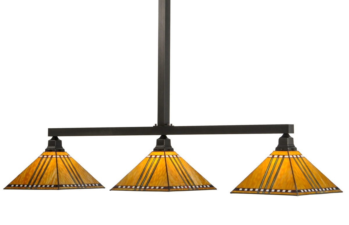 Meyda Tiffany 65851 62 Inch Length Prairie Corn 3 Light