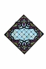 Meyda Tiffany (67143) 25.5 Inch Width X 25.5 Inch Height Jeweled Grape Stained Glass Window